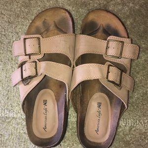 American Eagle sandals, size 7